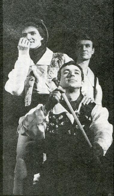 Л.Кубарев (Рыбаренко). «Упырь». Фото В. Васильева