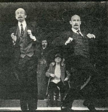 А.Жданов (Ленин 2-й) иВ.Сухорукое (Ленин 1-й). Фото В. Васильева