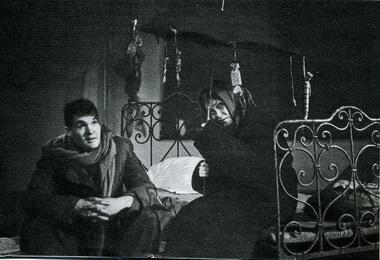 Д.Лепихин (Марат) иО.Гордийчук (Лика). Фото В. Дюжаева