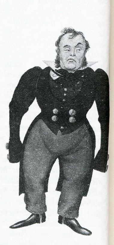 Эскиз костюма кспектаклю «Женитьба» (Акдрама, 1935г.)