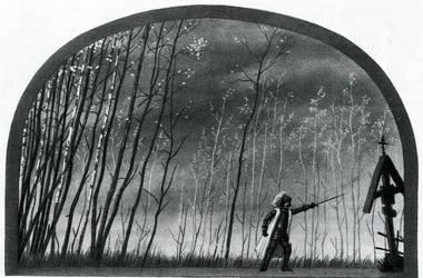 М.А.Григорьев. «Борис Годунов». Ленинград. Новый ТЮЗ. 1938г.