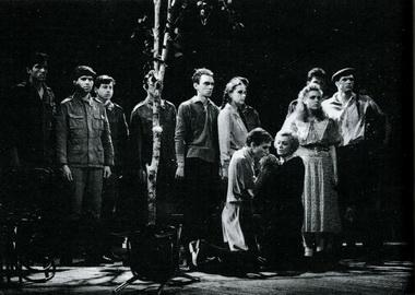 Сцена изспектакля. Фото В. Васильева