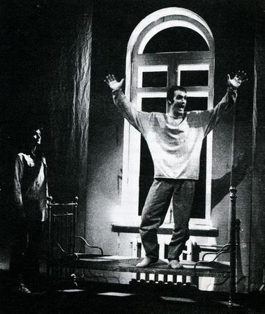 С. Барышев (Колечка), М.Разумовский (Лёша). Фото П. Маркина