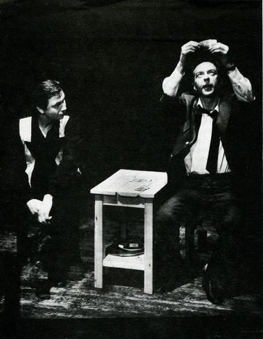 С. Кошонин (Мекки) иВ.Кухарешин (Браун). Фото Ю. Богатырёва