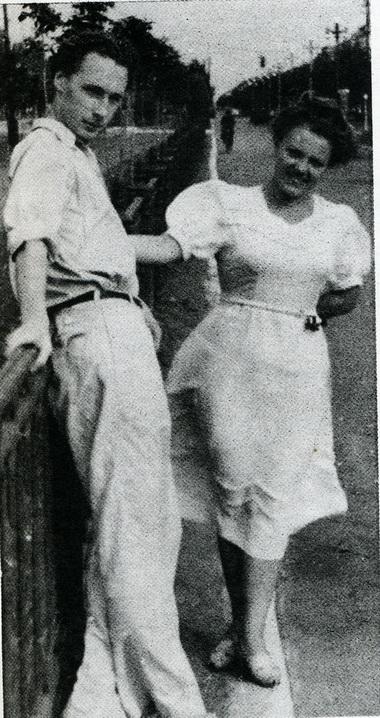 Б. Самошин иМ.Забулис. 50-е годы