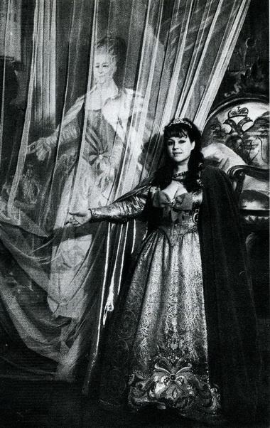 О. Самошина (Великая Екатерина). «Великая Екатерина». Фото В. Дюжаева