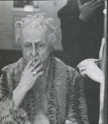 В. Стржельчик перед спектаклем. Октябрь 1987г. Фото Ю. Белинского