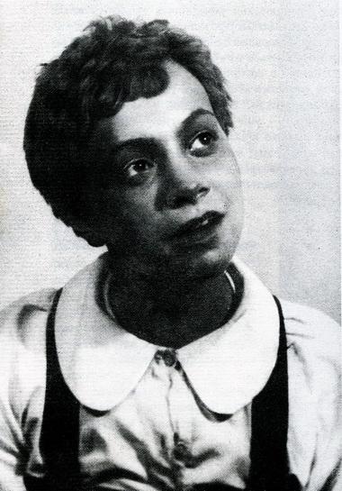 Анна Хаславская (Бен). «Том Сойер». ТЮЗ 1939 г. Фото из архива автора