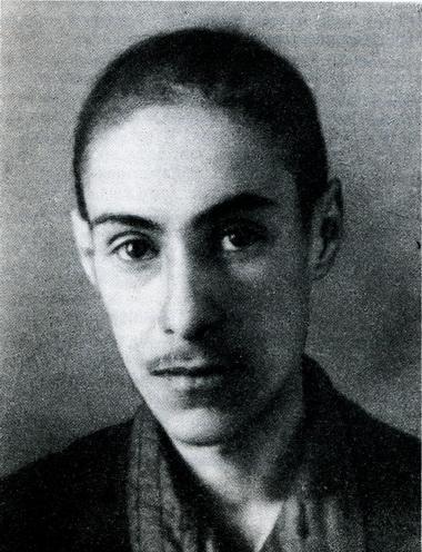Абрам Мадиевский. Студент 2-го курса. 1942 г. Фото из архива А. Л. Мадиевского