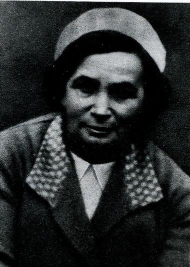 Мария Захаровна Хаславская. 40-е годы. Фото из архива автора.