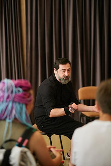 Руководитель БДФ Лаб Руслан Кудашов. Фото— Юлия Высоцкая.
