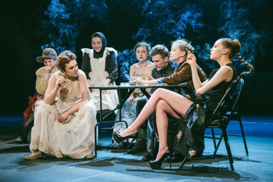 Театральные эротические спектакли смотреть 5