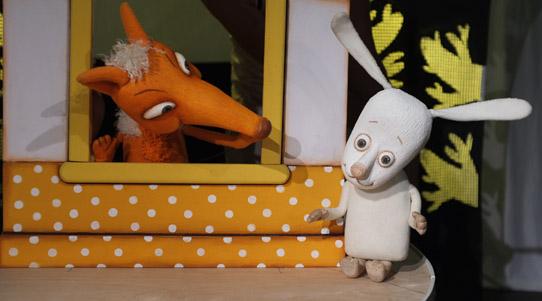 Заяц, Лиса и Петух