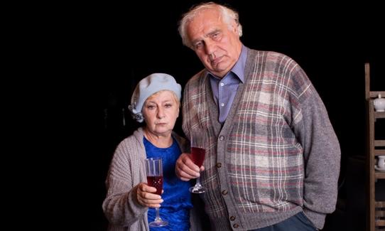 Два «старомодных» коктейля