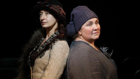 Две дамочки в сторону севера